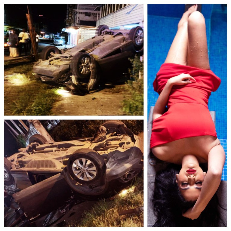 Kristal Inshan Accident