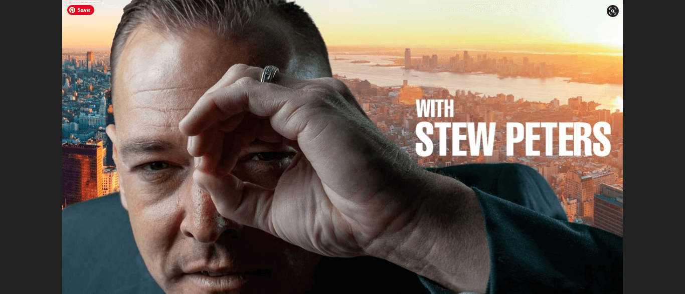 Stew Peters hosts the Stew Peters Show.